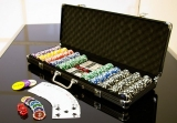 Poker set 500 ks  OCEAN BLACK EDITION