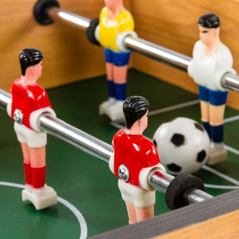 8535ae887 Mini stolný futbal KICKER pre 2 osoby- tmavý