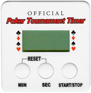 Poker Tournament Timer časovač na hru