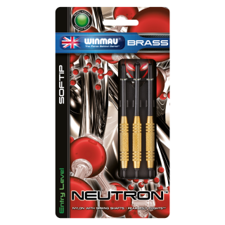 Set šípky Winmau NEUTRON 2233 16g soft Brass