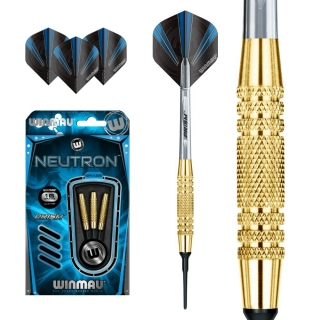 Set šípky Winmau NEUTRON 16g soft Brass