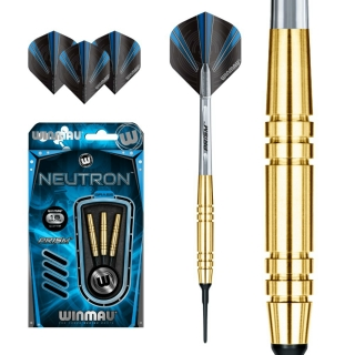 Set šípky Winmau NEUTRON 18g soft Brass
