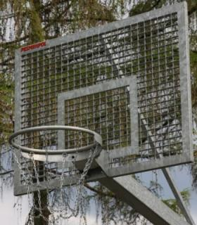 Basketbalový set Outdoor Steel 90x120