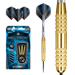 Set šípky Winmau NEUTRON K 23g steel Brass