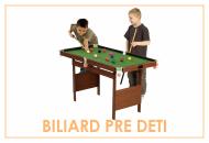 Detský biliardový stôl pre deti veľký výber
