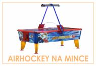 Airhockey na mince komerčný vzdušný hokej